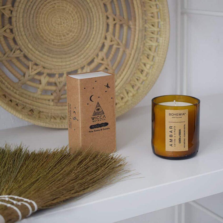 Bougies parfumées naturelles Finca Home - Ambiance 1