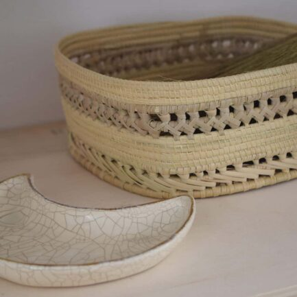 Corbeilles tressées en fibres végétales Finca Home - Ambiance 8
