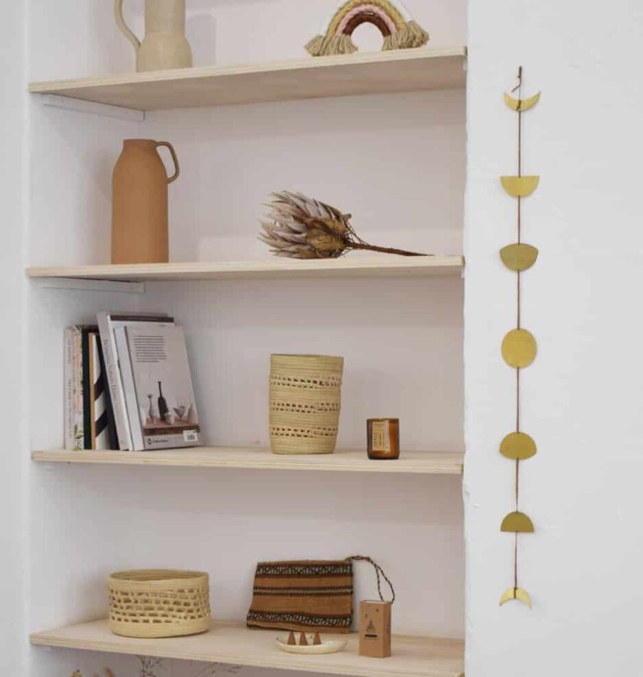 Vase cache-pot tressé décoratif Finca Home - Ambiance 2