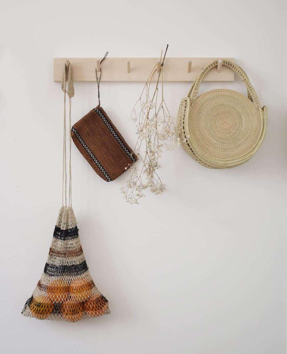 Mini sac rond naturel Finca Home - Ambiance 2