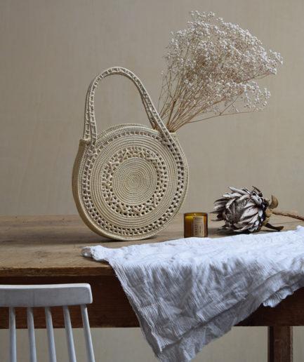 Sac rond motif naturel Finca Home - Ambiance 2