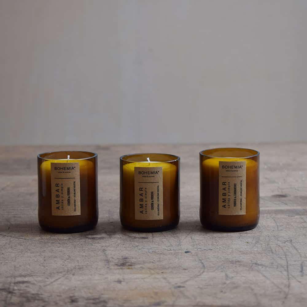 Bougies parfumées naturelles Finca Home - Ambiance 3