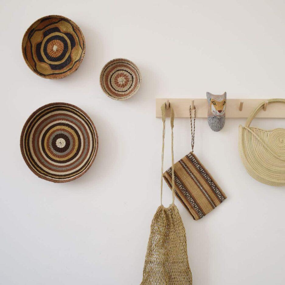 Corbeille ethnique ronde colorée Finca Home - Ambiance 7