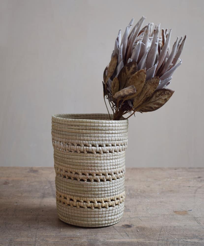 Vase cache-pot tressé décoratif Finca Home - Ambiance