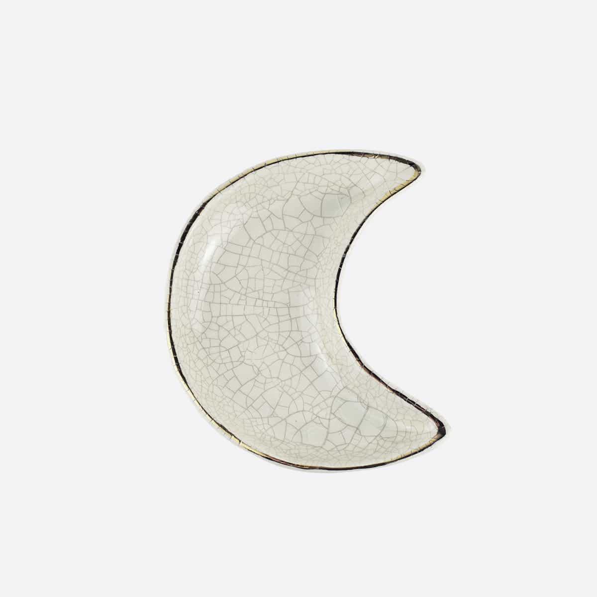 Coupelle lune en céramique artisanale Finca Home