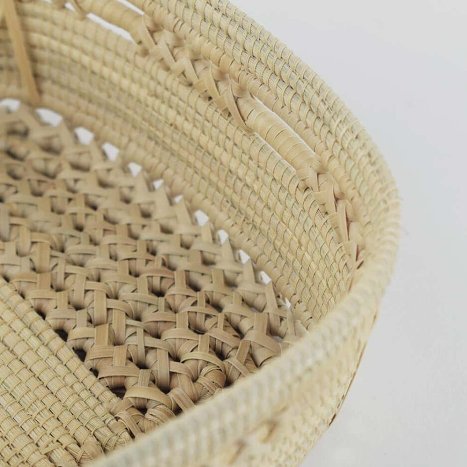 Corbeille tressée en fibres végétales Finca Home - Zoom