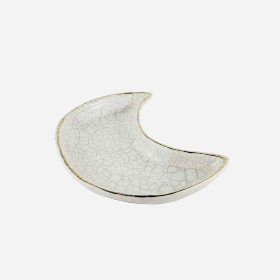 Coupelle lune en céramique artisanale Finca Home - Détails