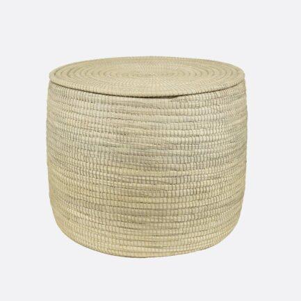 Grande boîte tressée en palmier Finca Home