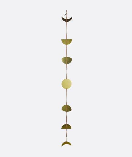 Guirlande lune en bronze Finca Home - Détails