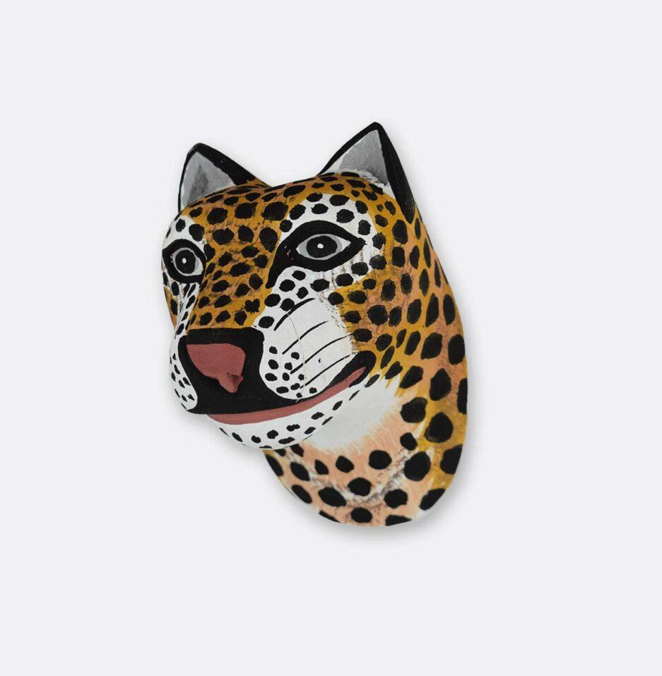 Trophée mural en bois Mini Jaguar Finca Home