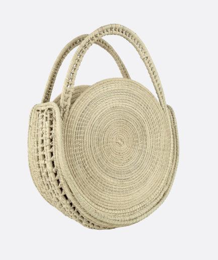 Mini sac rond naturel Finca Home