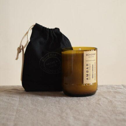 Bougie parfumée Vanille et Cardamome Finca Home