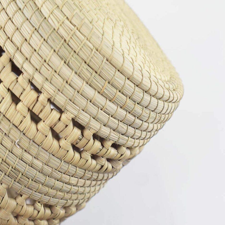Vase cache-pot tressé décoratif Finca Home - Zoom