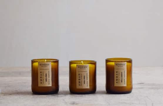 Bougies parfumées naturelles Finca Home