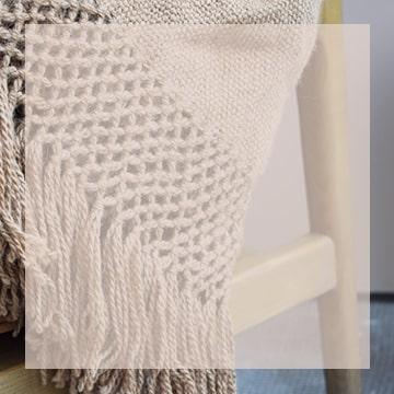 Plaid en laine de lama Finca Home