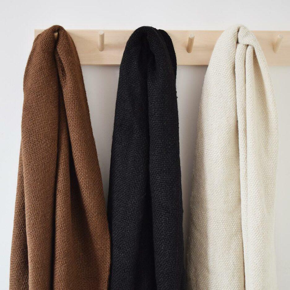 Echarpe en laine de lama Finca Home - Détails