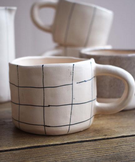 Tasse en céramique carreaux Martina Palacios Finca Home - Ambiance 2