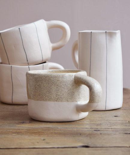 Tasse en céramique artisanale Martina Palacios Finca Home - Ambiance