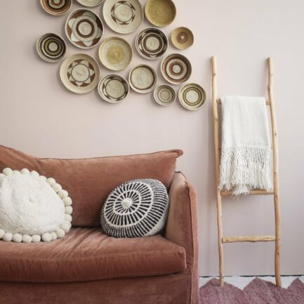 Tapis en laine terracotta Finca Home - Ambiance