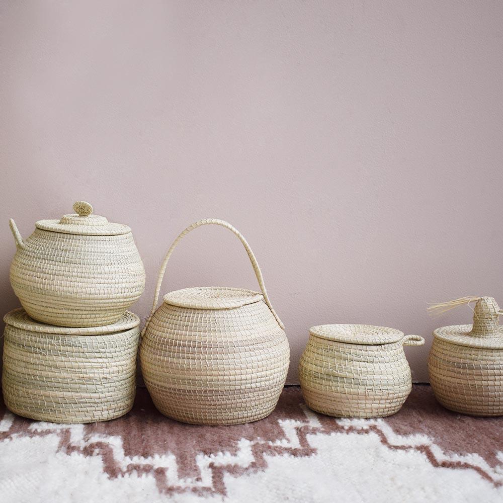 Boîte décorative ronde Finca Home - Ambiance