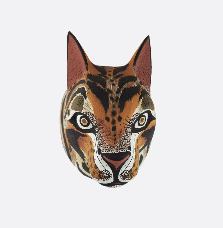 Trophée mural en bois Panthera Finca Home - Vue de face