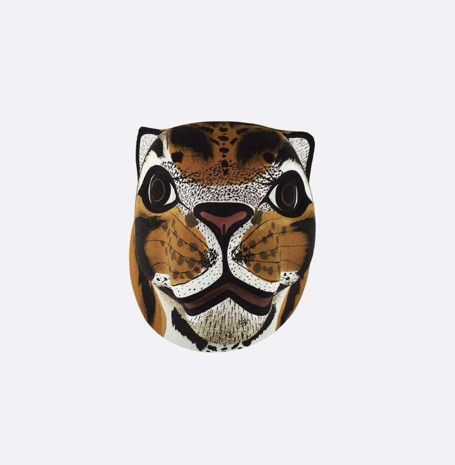 Trophée mural en bois Tigre Finca Home - Vue de face