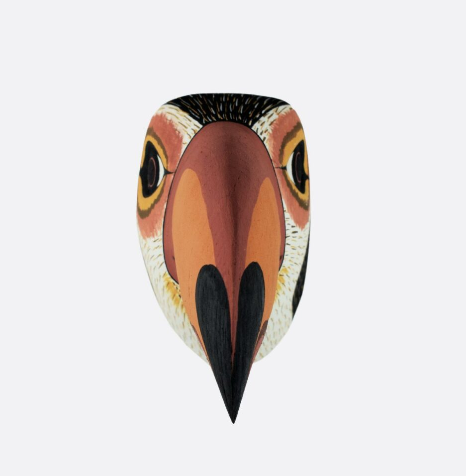 Trophée mural en bois Toucan Finca Home - Vue de face