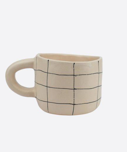 Tasse à carreaux en céramique Martina Palacios - Finca Home