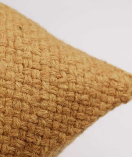 Coussin carré 50x50 ocre Finca Home - Zoom