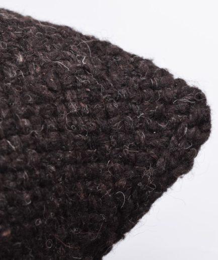 Coussin carré 50x50 noir Finca Home - Zoom