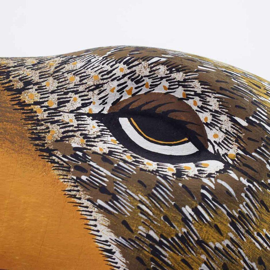 Trophée mural en bois Aigle Finca Home - Zoom