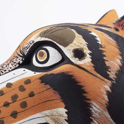 Trophée mural en bois Panthera Finca Home - Zoom