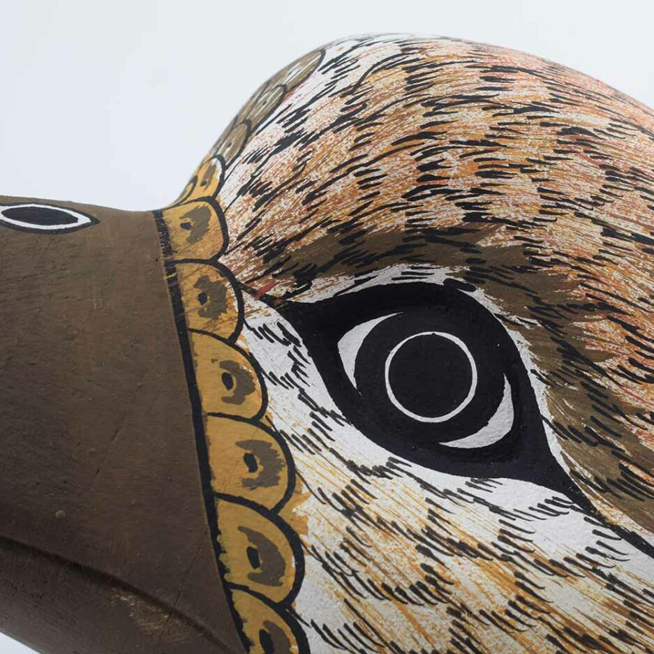 Trophée mural en bois Oiseau Finca Home - Zoom