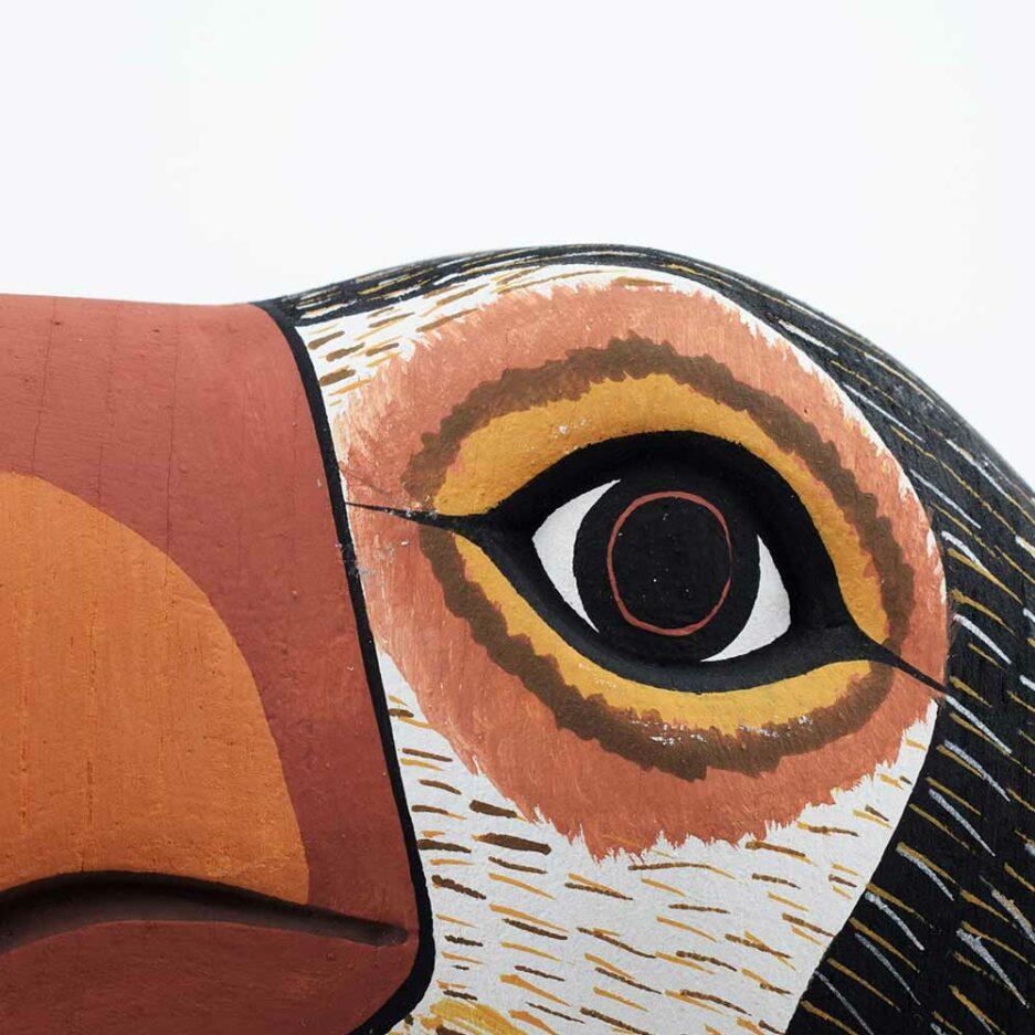 Trophée mural en bois Toucan Finca Home - Zoom