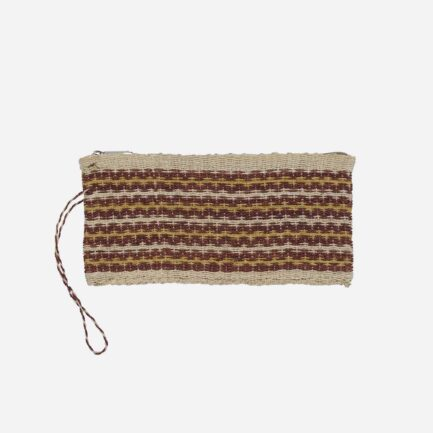 Trousse plate marron en chaguar Finca Home