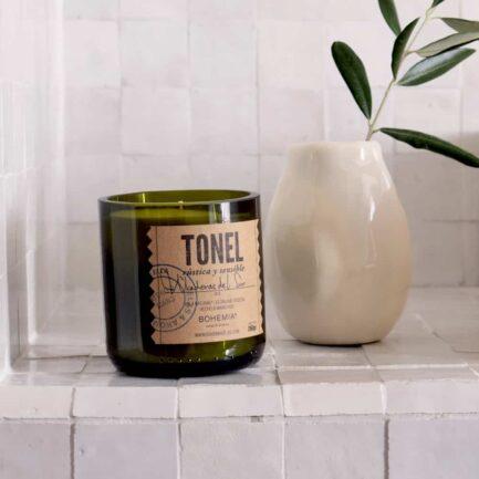 Bougie artisanale parfumée Bois du sud Finca Home
