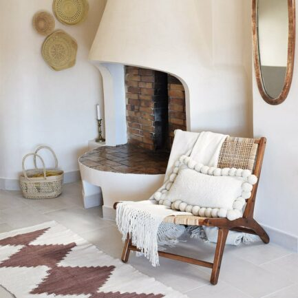 Tapis de couloir terracotta Finca Home