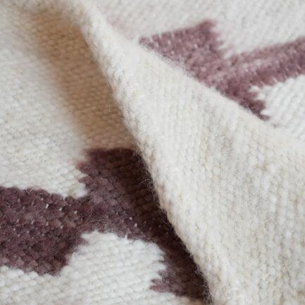 Mini tapis en laine santal Finca Home