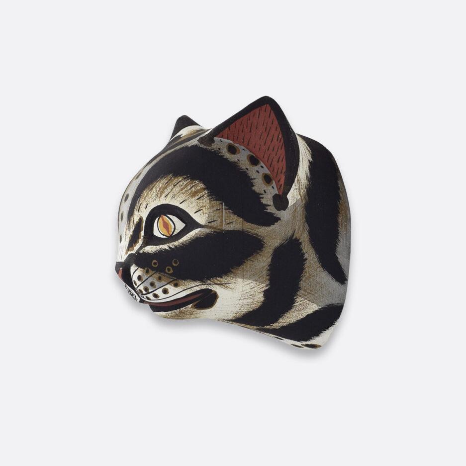 Trophée mural en bois petit chat Finca Home