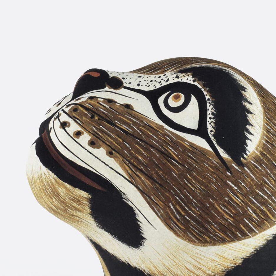 Trophée mural puma en bois - Finca Home