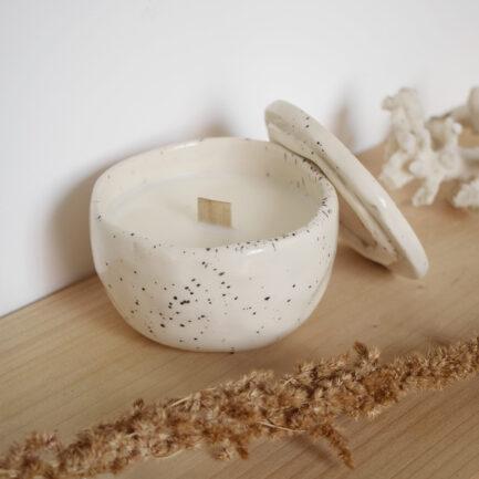 Bougie écologique en céramique jasmin Finca Home