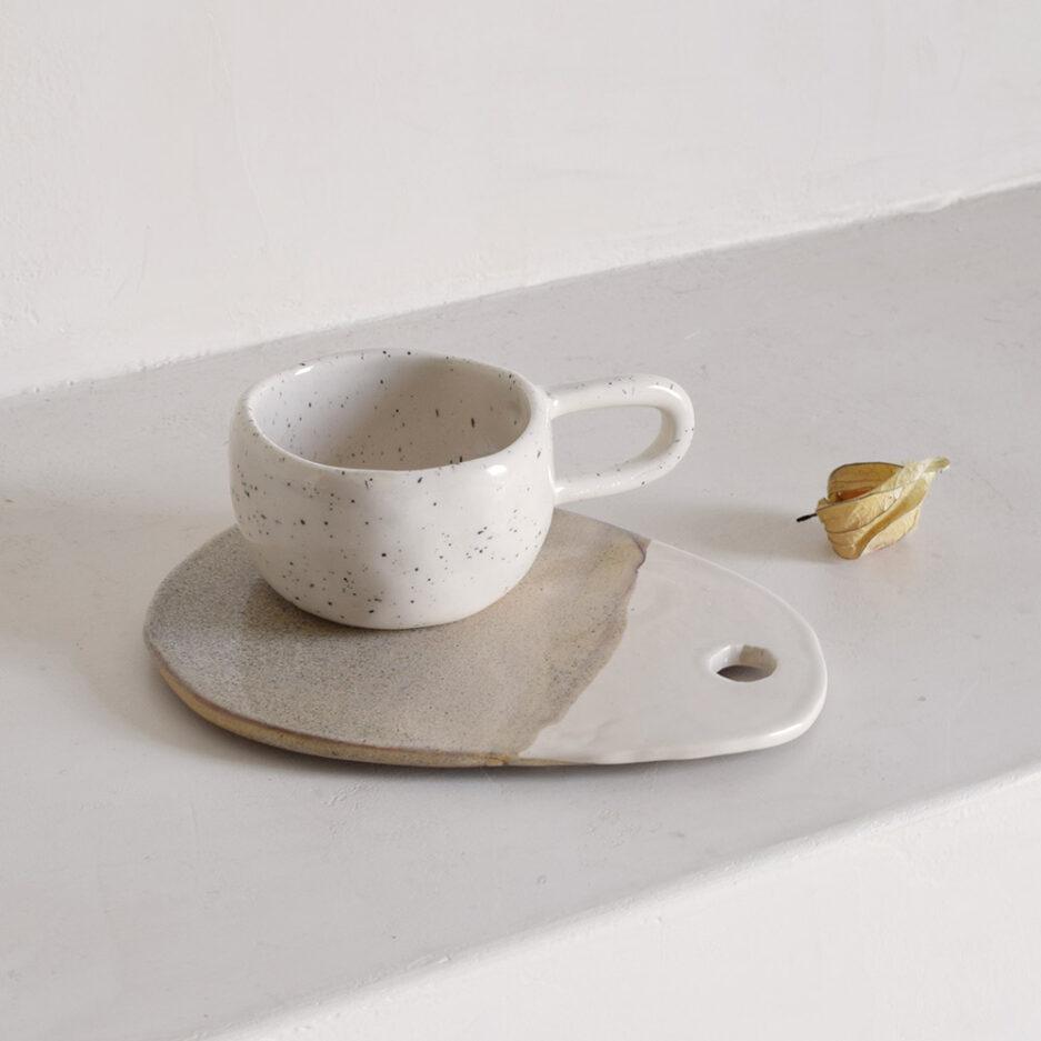 Tasse céramique mouchetée artisanale Finca Home