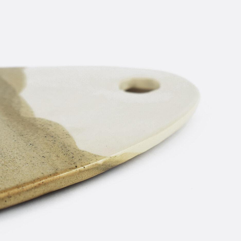 Planche à tapas en céramique bicolore Finca Home