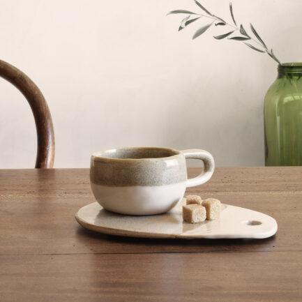 Tasse céramique bicolore artisanale Finca Home