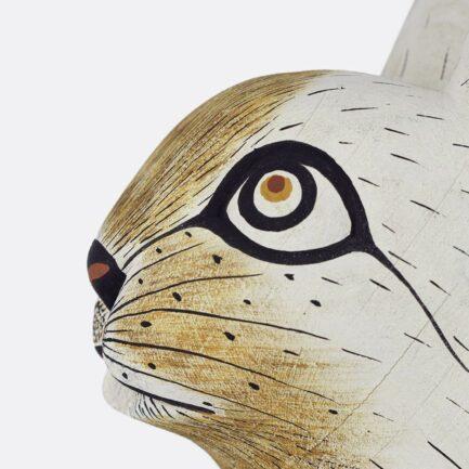 Trophée mural lapin blanc Finca Home