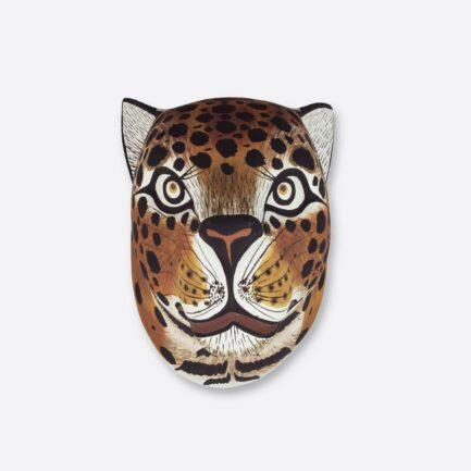 Trophée mural Jaguar en bois - Finca Home