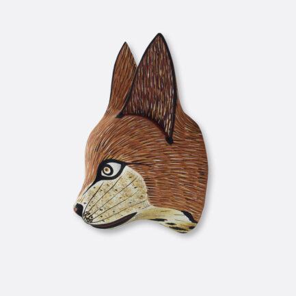 Trophée mural renard roux Finca Home