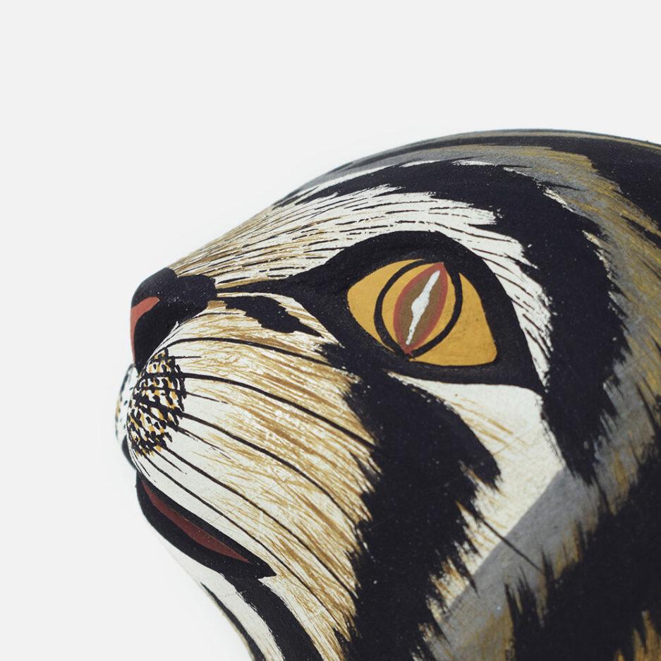 Trophée mural grand chat Finca Home