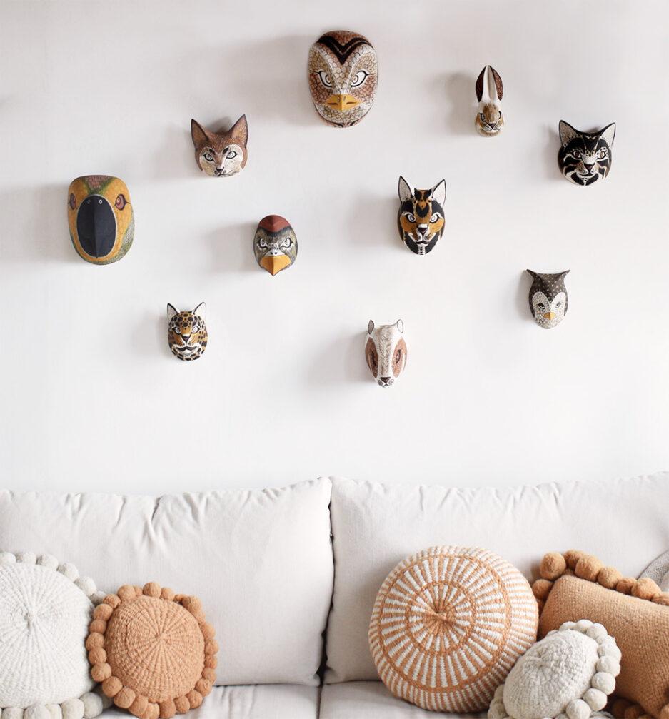 Trophées animaux déco murale Finca Home
