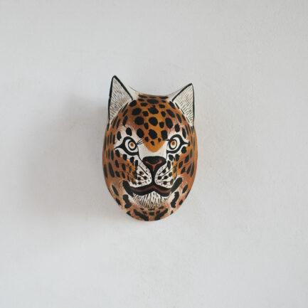 Trophée mural en bois Petit Jaguar Finca Home